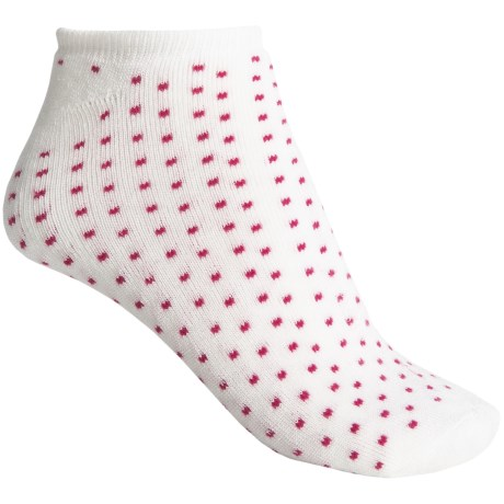 b.ella Suzie Pindot Model No-Show Socks - Below-the-Ankle (For Women)