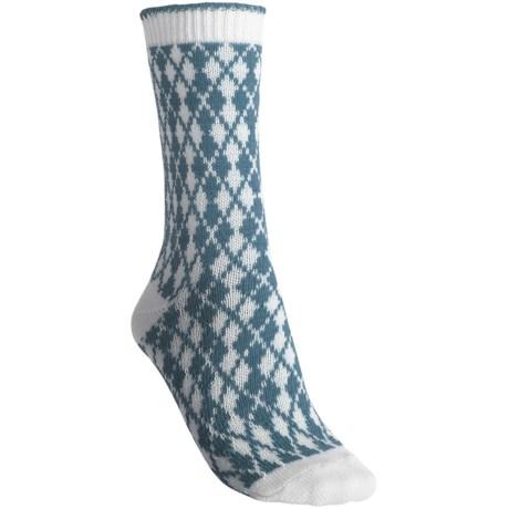 b.ella Pam Mini Argyle Socks - Crew (For Women)