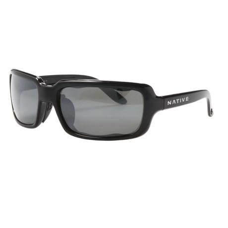 Native Eyewear Lodo Sunglasses - Polarized Reflex Lenses (For Women)