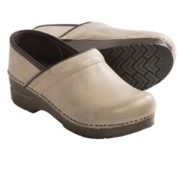 Dansko Professional Soft Clogs - Leather (For Women)