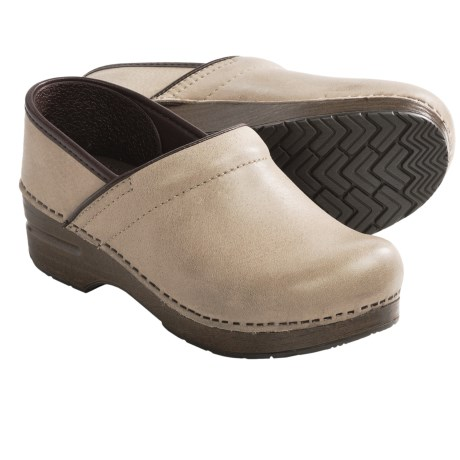 Dansko Professional Soft Clogs - Leather (For Women)