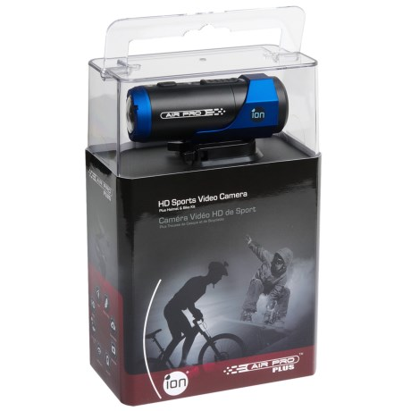 iON Air Pro Plus HD Helmet Video Camera