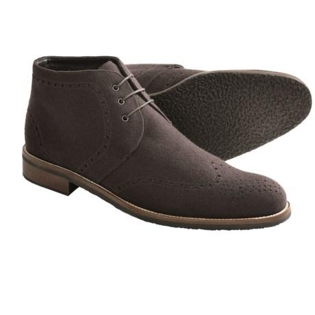 Thomas Dean Wool Chukka Boots (For Men)