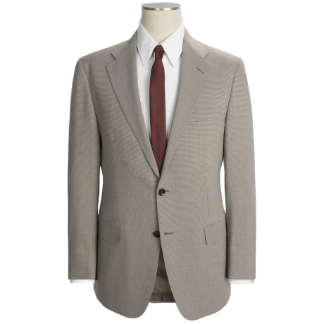 Hickey Freeman Mini Houndstooth Suit - Wool (For Men)