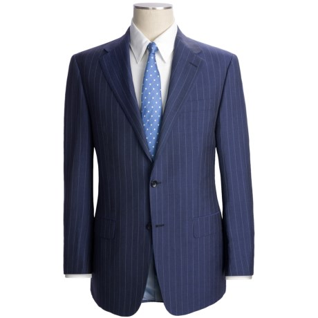 Hickey Freeman Pinstripe Suit - Wool-Linen (For Men)