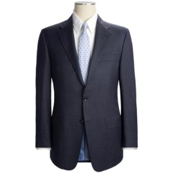 Hickey Freeman Pin Dot with Faint Stripe Suit - Worsted Wool (For Men)