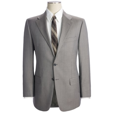 Hickey Freeman Rope Stripe Suit - Wool (For Men)