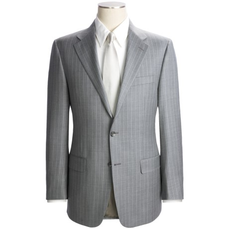 Hickey Freeman Wide Rope Stripe Suit - Worsted Wool (For Men)