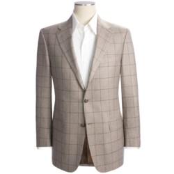 Hickey Freeman Windowpane Sport Coat - Silk-Cashmere (For Men)