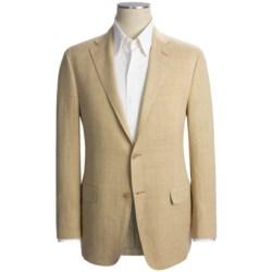 Hickey Freeman Fancy Solid Sport Coat - Linen-Silk (For Men)