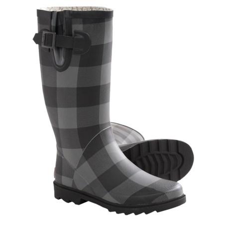 Chooka Buffalo Bone Rain Boots - Waterproof, Rubber (For Women)