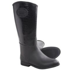 Chooka Croco-Embossed Rain Boots - Waterproof, Rubber (For Women)