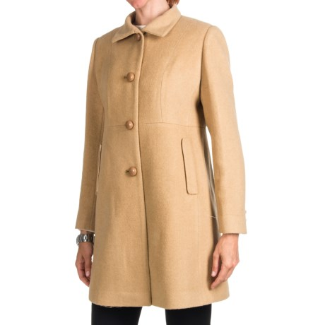 Jonathan Michael Metro Coat - Camel Hair (For Women)