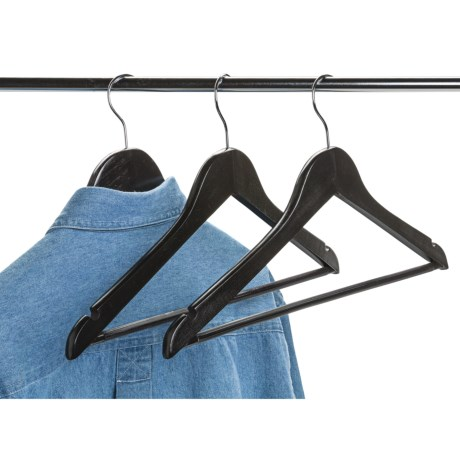 neatfreak! Wood Clothing Hangers - 14-Pack