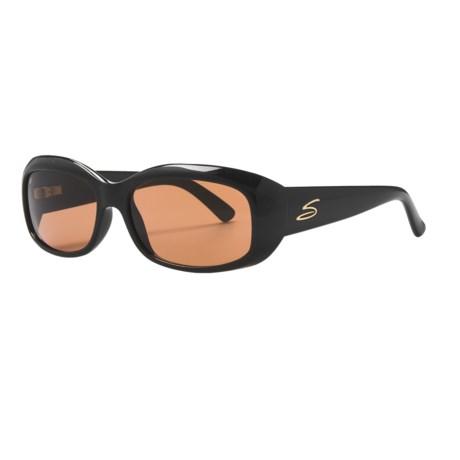 Serengeti Bianca Sunglasses - Photochromic Glass Lenses (For Women)