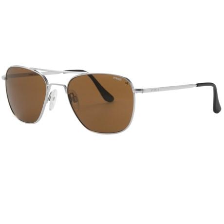 Randolph Aviator 55mm Sunglasses - Polarized, Glass Lenses