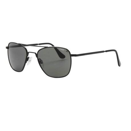 Randolph Aviator 52mm Sunglasses - Polarized, Glass Lenses