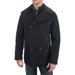 Golden Bear The Brentwood Classic Peacoat - Lux Wool, Insulated (For Men)
