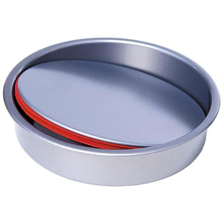 """PushPan Gourmet Cheesecake Pushpan - 10"""", Anodized Aluminum"""