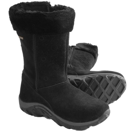Merrell Jungle Moc Puff Snow Boots - Waterproof, Insulated (For Girls)