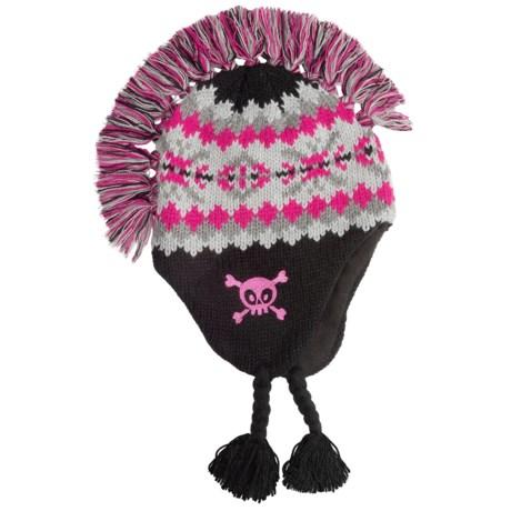 Jacob Ash Attakid Mohawk Hat - Ear Flaps, Fleece Lining (For Kids)