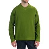 White Sierra Headwall V-Neck Shirt - Long Sleeve (For Men)