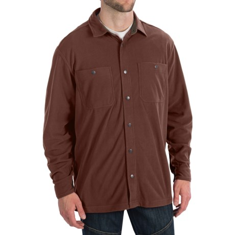 White Sierra Whitney Springs Overshirt - Long Sleeve (For Men)