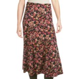 Floral Moleskin Skirt (For Women)