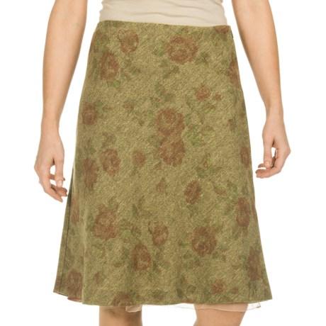 Tweed Tapestry Skirt (For Women)