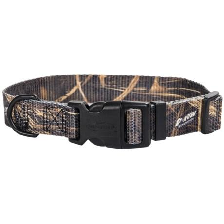 "Team Realtree 3/4"" Adjustable Camo Dog Collar - 14-20"""