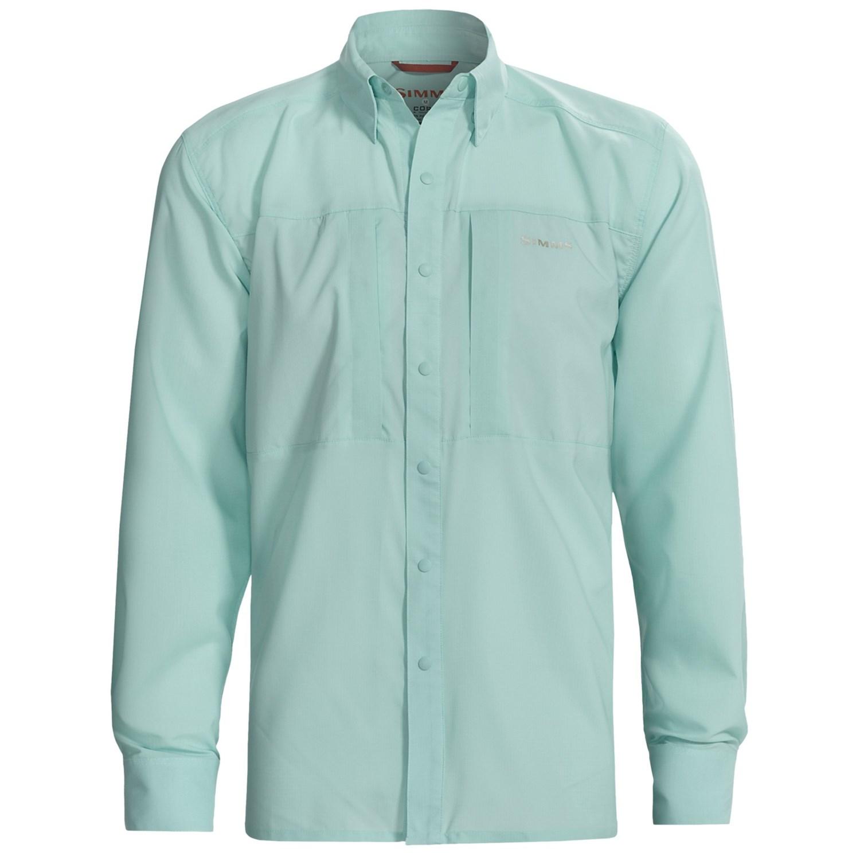 Simms Ultralight Fishing Shirt For Men 6073c Save 40