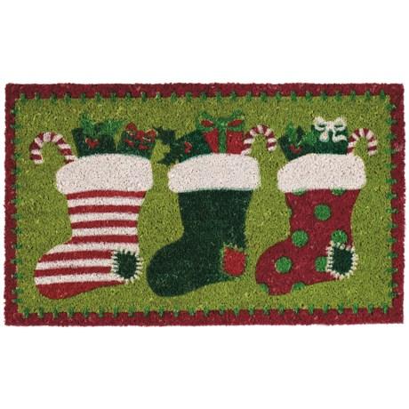 "DII Coir Holiday Doormat - 18x30"""