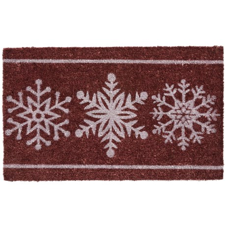 DII Coir Holiday Doormat - 18x30""