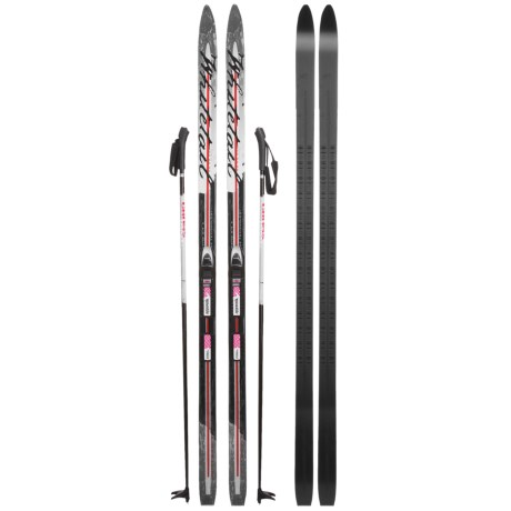 Whitewoods Whitetail Touring Nordic Skis - Rottefella BCA NNN Bindings, Poles