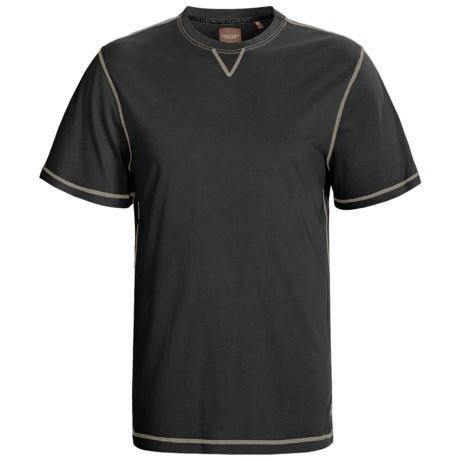 True Grit Sleep Shirt - Cotton, Short Sleeve (For Men)