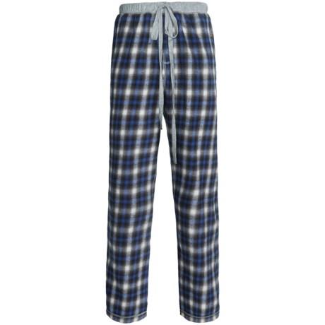 True Grit Whisky Plaid Flannel Pants (For Men)
