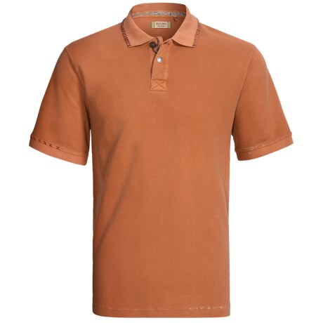True Grit Vintage Pique Polo Shirt - Short Sleeve (For Men)