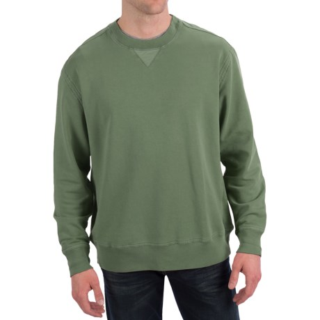True Grit Cashmere Fleece Sweatshirt (For Men)