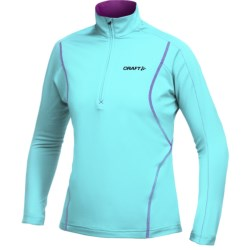 Craft Sportswear High-Performance Lightweight Stretch Pullover - Zip Neck, Long Sleeve (For Women)