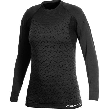 Craft Sportswear Warm CK Base Layer Top - Merino Wool, Long Sleeve (For Women)