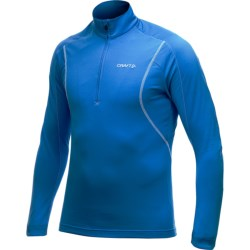 Craft Sportswear Lightweight Stretch Pullover Shirt - Zip Neck, Long Sleeve (For Men)