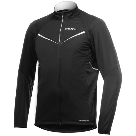 Craft Sportswear High-Performance Storm Cycling Jacket - Windproof, Insulated (For Men)