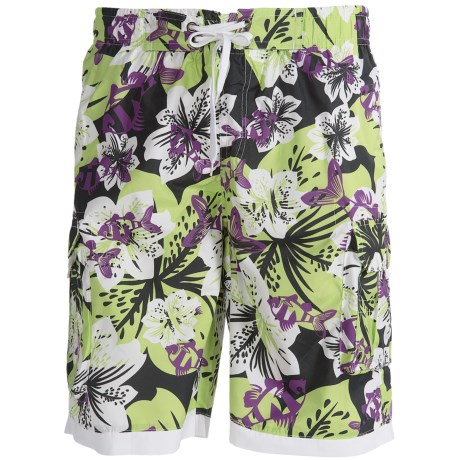 Single Side-Pocket Boardshorts (For Men)