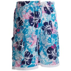 Specially made PT Sportswear Printed Cargo Boardshorts (For Men)