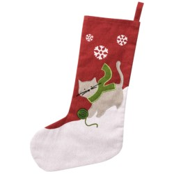 Tag Pet Christmas Stocking