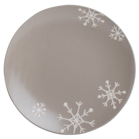 "Tag Chalet 13"" Stoneware Platter"
