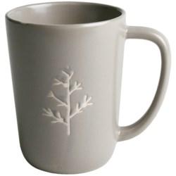 Tag Chalet Mugs - Set of 8, Stoneware