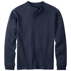 Mountain Khakis Trapper Henley Shirt - Long Sleeve (For Men)
