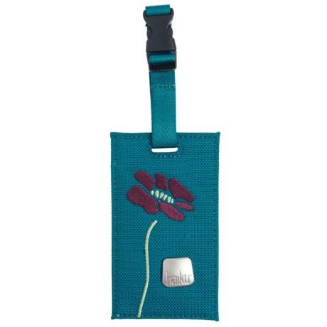 Haiku Rumi Luggage Tag - Recycled Materials