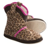 CicciaBella Young Riders Little Leopard Boots - Slippers (For Little Girls)
